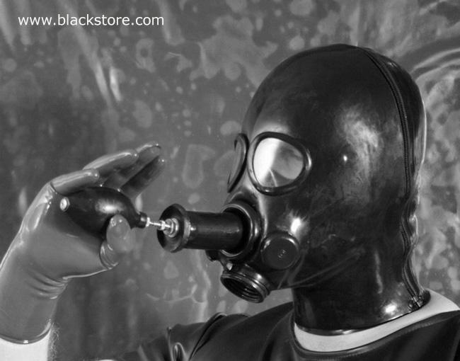 Die Masken für die Person mit dem Honig von den Pickeln